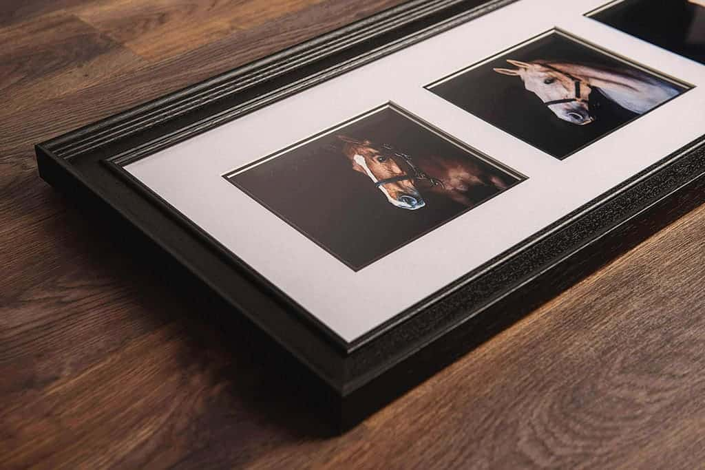 Multi-image framed print