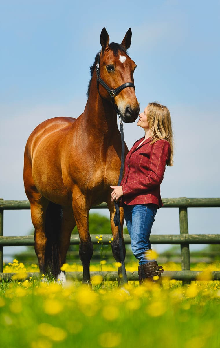 Dressage horse Derbyshire photography