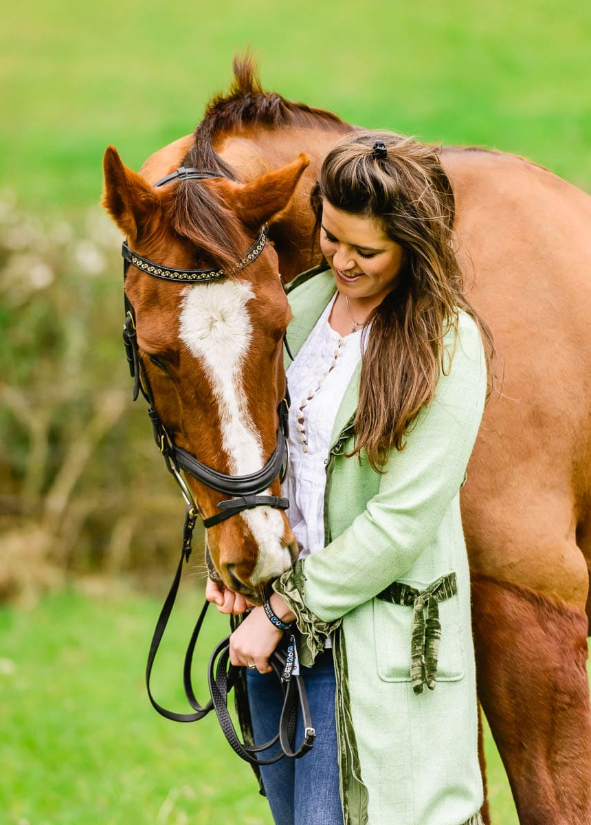 Dressage horse - New Forest photographer