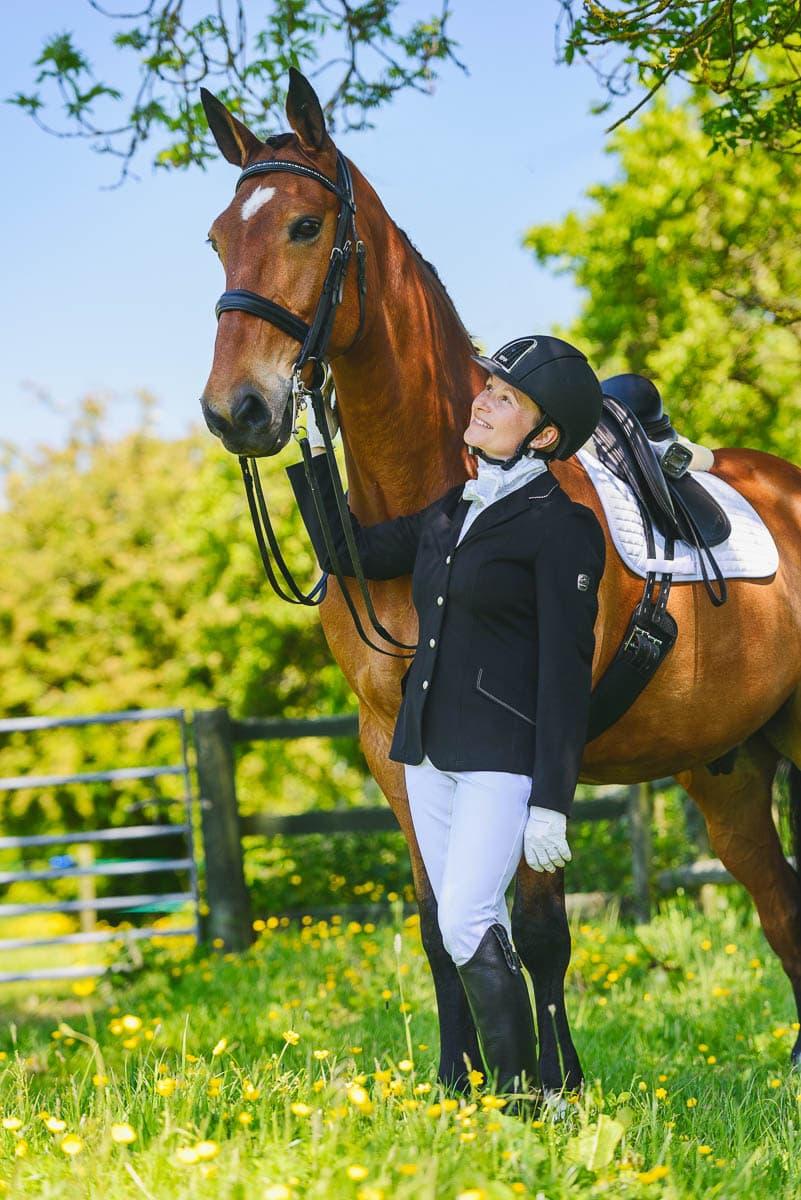 Dressage horse photography - Derbyshire