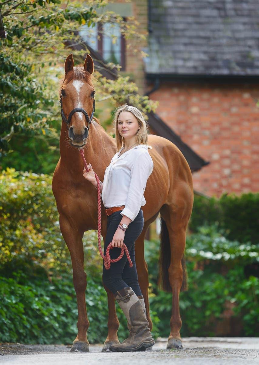 Irish Sport Horse - Derbyshire photographer
