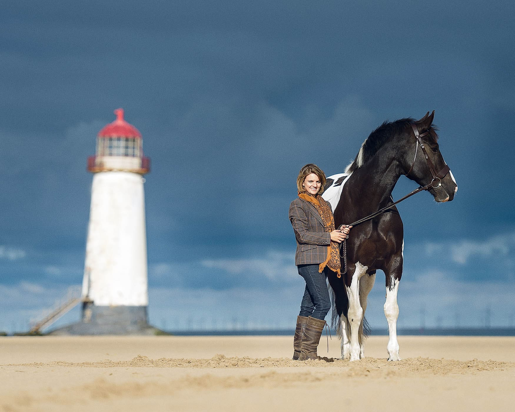 Beach horse photography sessions - Talacre