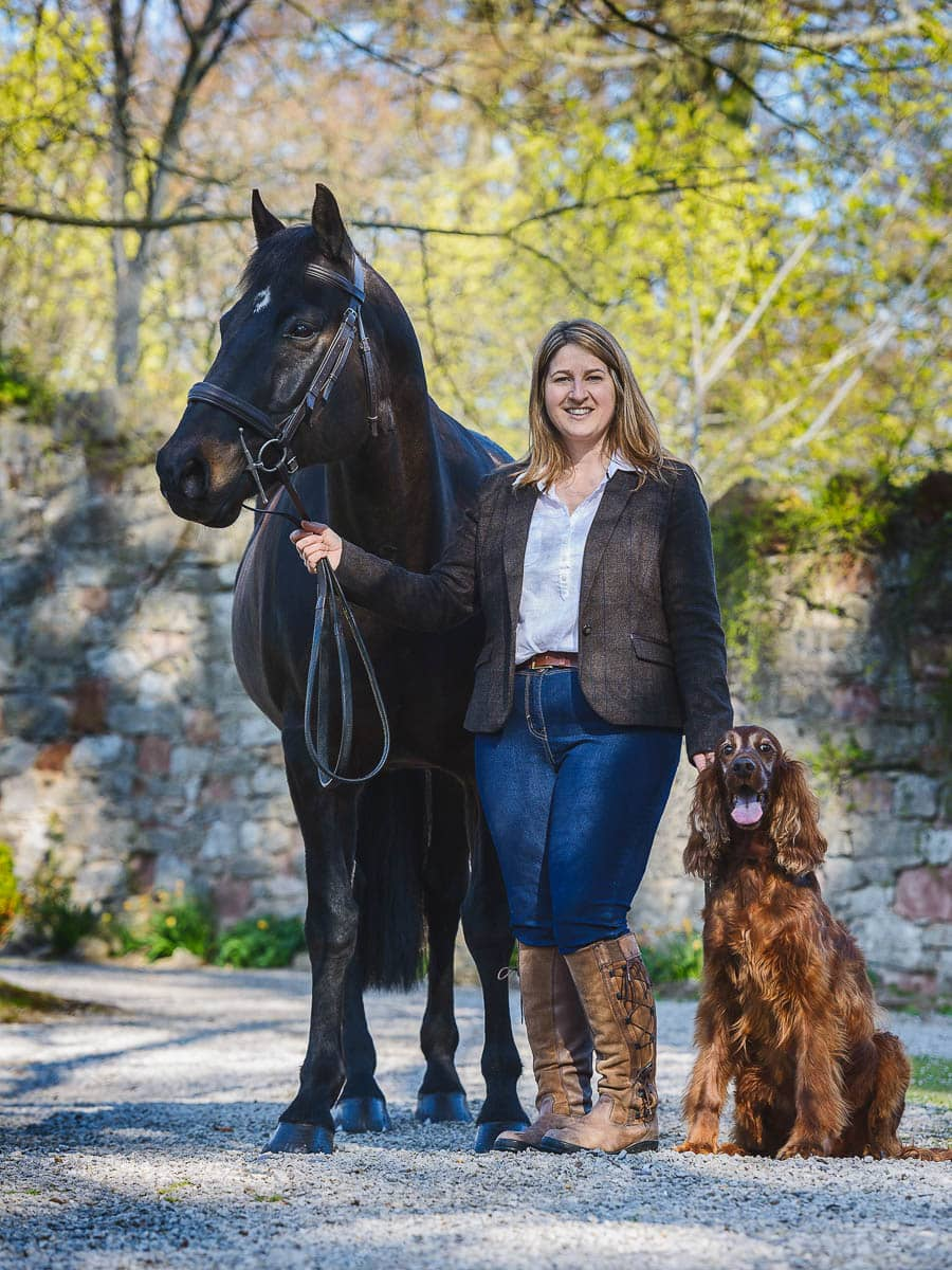 Dog and horse photography - North Wales